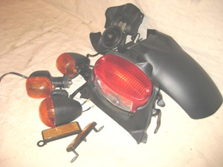 Taillight Turnsignals Reflectors Horn